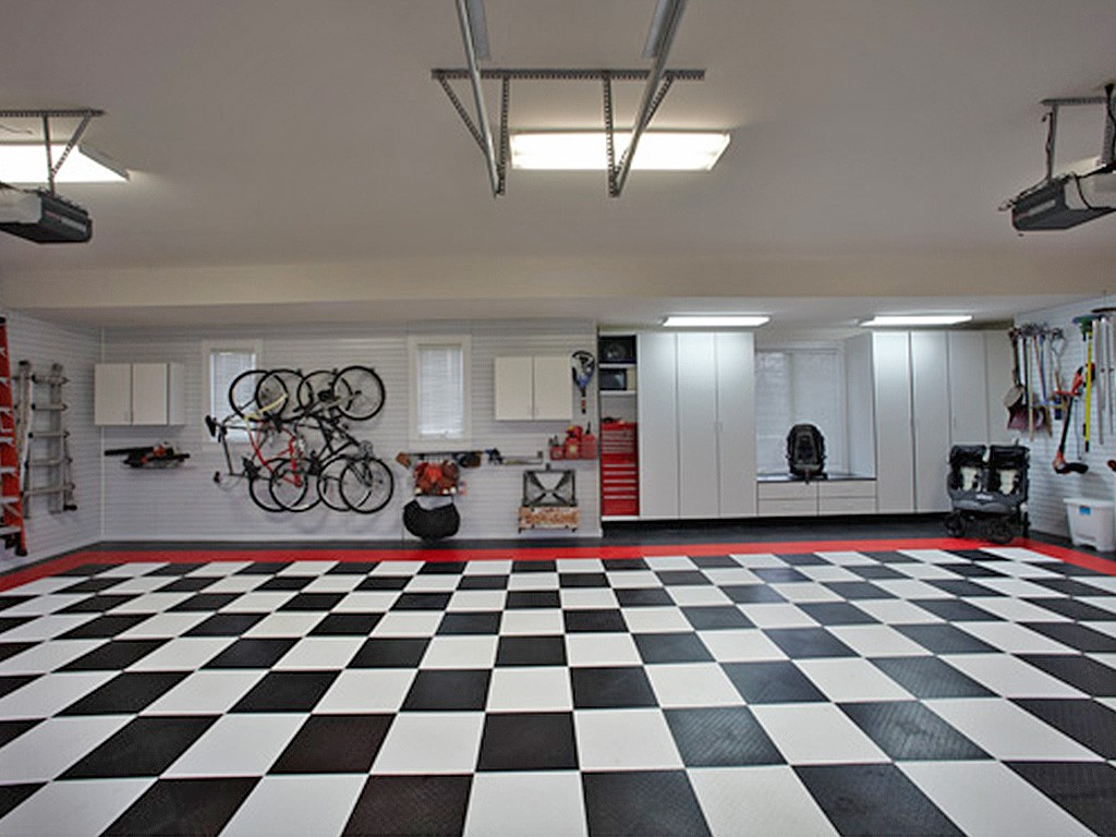 right garage flooring