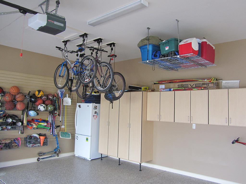 A well thought out, organized garage can store much more than you'd think